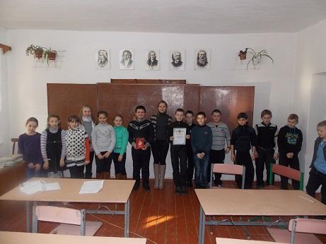 В Народицькій гімназії проведено еко-гру «Юні знавці природи»