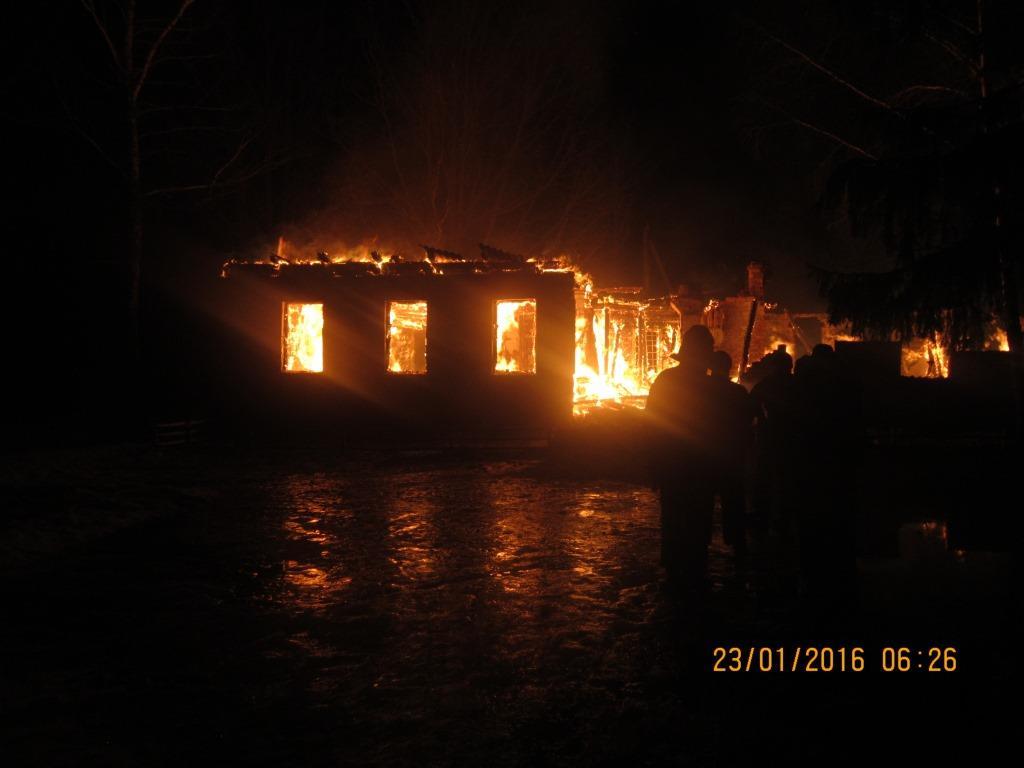 Пожежа в природному заповіднику «Древлянський»