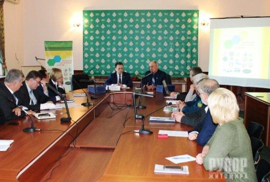 Директор природного заповідника «Древлянський» взяв участь в підписанні угоди про створення Поліського екологічного кластеру