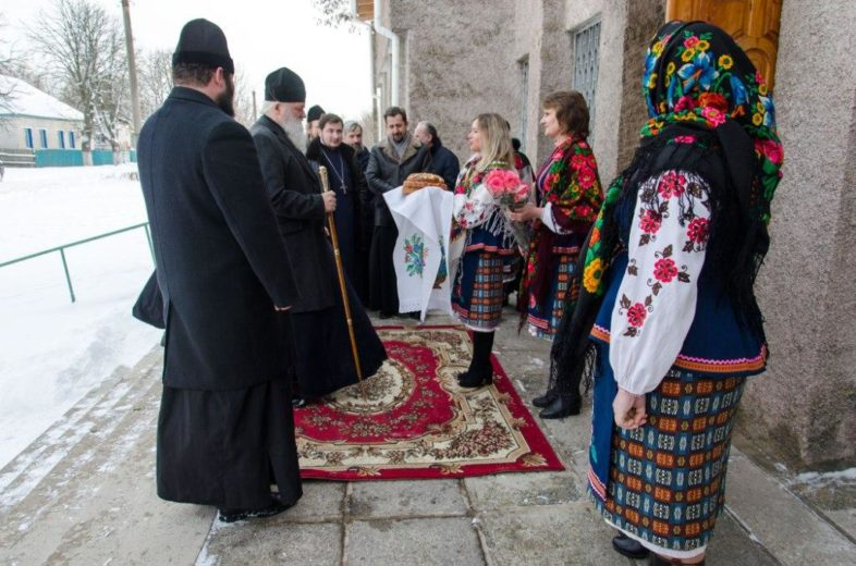 Природний заповідник «Древлянський» взяв участь в Святі Колядок