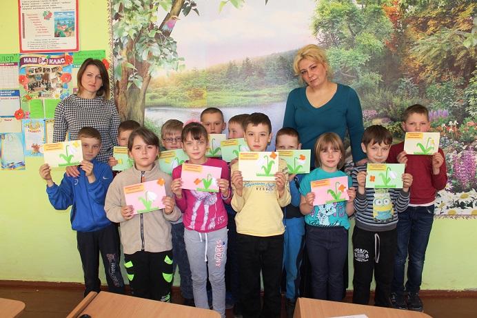 Працівники природного заповідники «Древлянський» відвідали Народицьку гімназію