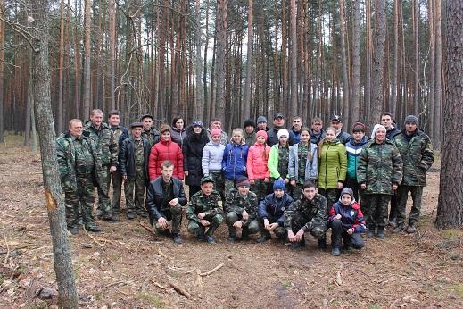 Працівники природного заповідника «Древлянський» взяли участь в акції «Майбутнє лісу в твоїх руках»