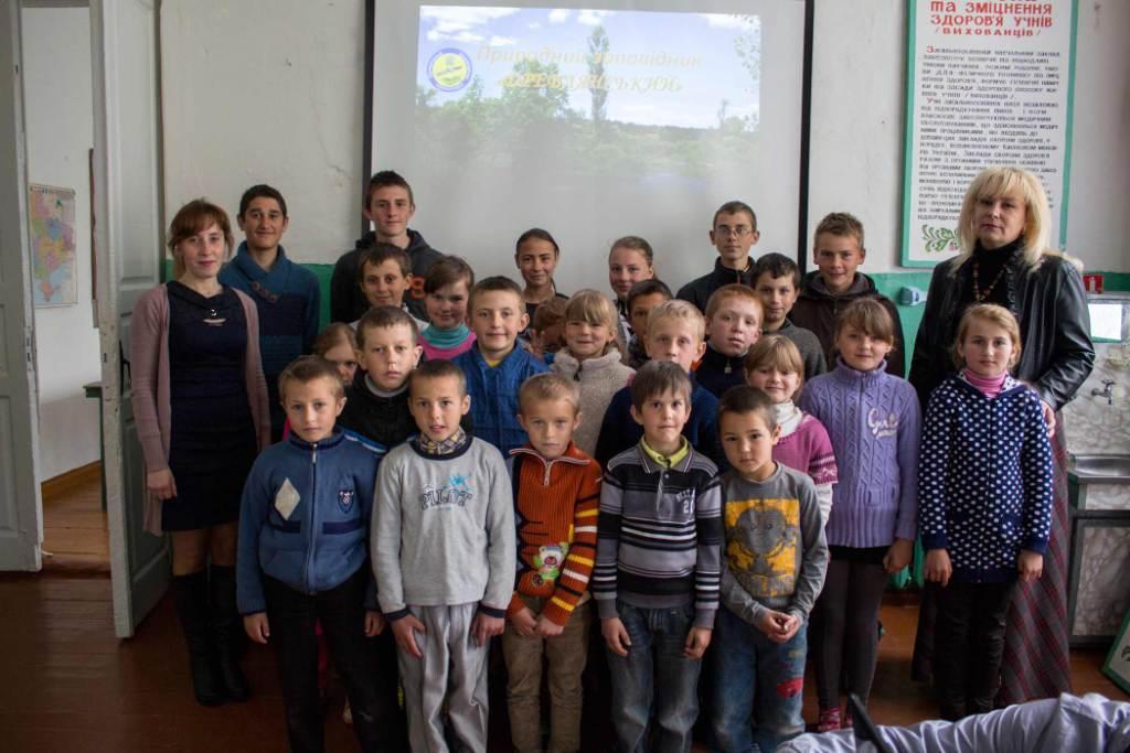 До Дня екологічної освіти працівники природного заповідника «Древлянський» відвідали Болотницьку ЗОШ
