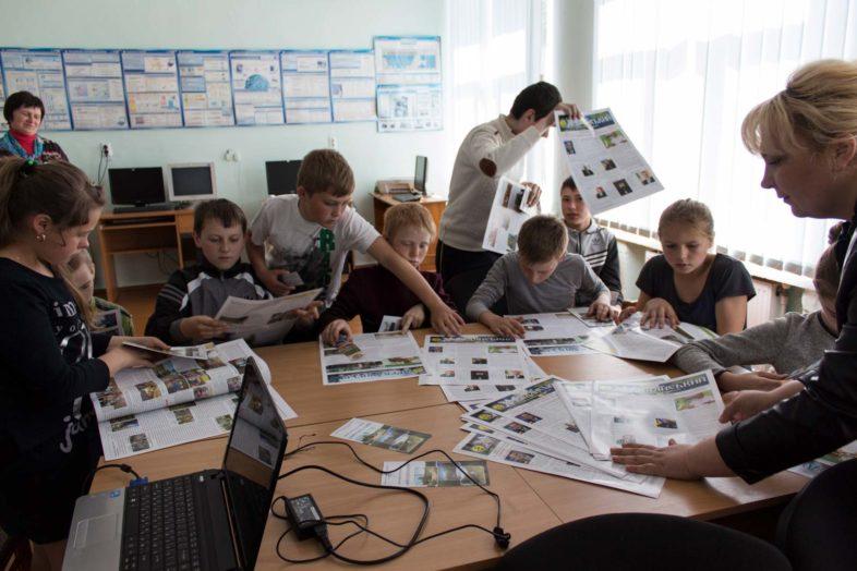 До дня Міжнародного дня біорізноманіття працівники ПЗ «Древлянський» відвідали Закусилівську ЗОШ.