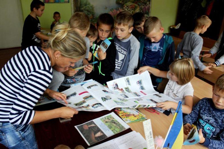 В Народицькій гімназії діти вивчали їстівні та отруйні гриби.