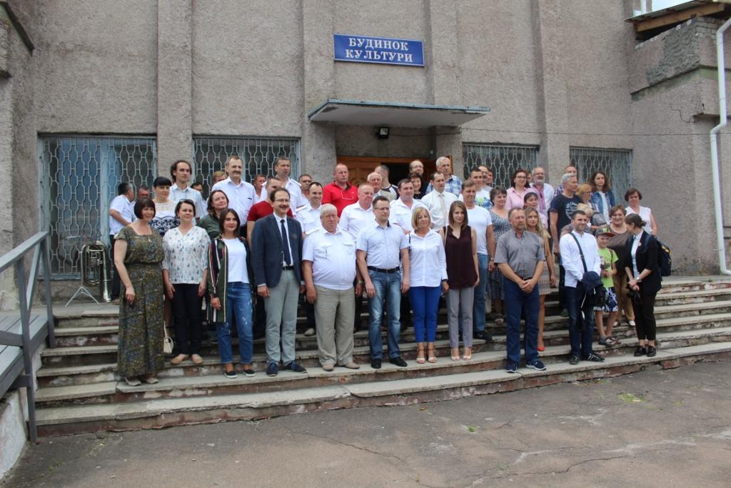 Перший міжнародний семінар на базі природного заповідника «Древлянський»