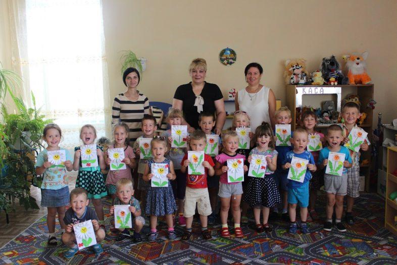 ПЗ «Древлянський», прийшли в ДНЗ «Сонечко щоб поговорити з дітками про лікарські рослини.