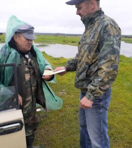Працівники Народицького ПНДВ проводять масово-роз'яснювальні бесіди серед рибалок