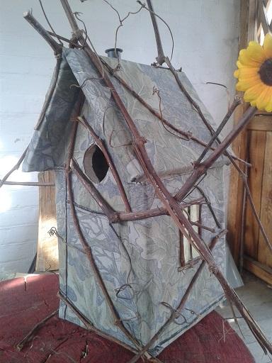 Будиночок для птахів!