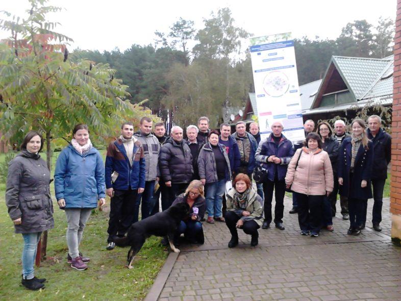 Науковці з «Древлянського» на міжнародному семінарі у Шацьку