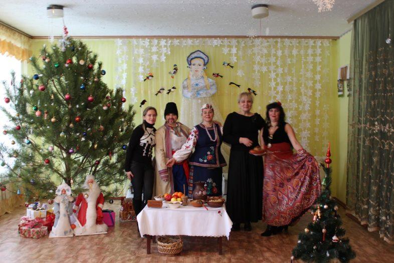 Працівники відділу екоосвіти відвідали свято щедрівок.
