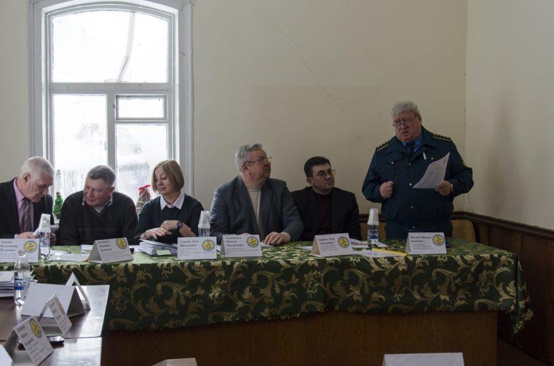 Чергове засідання НТР в природному заповіднику «Древлянський».