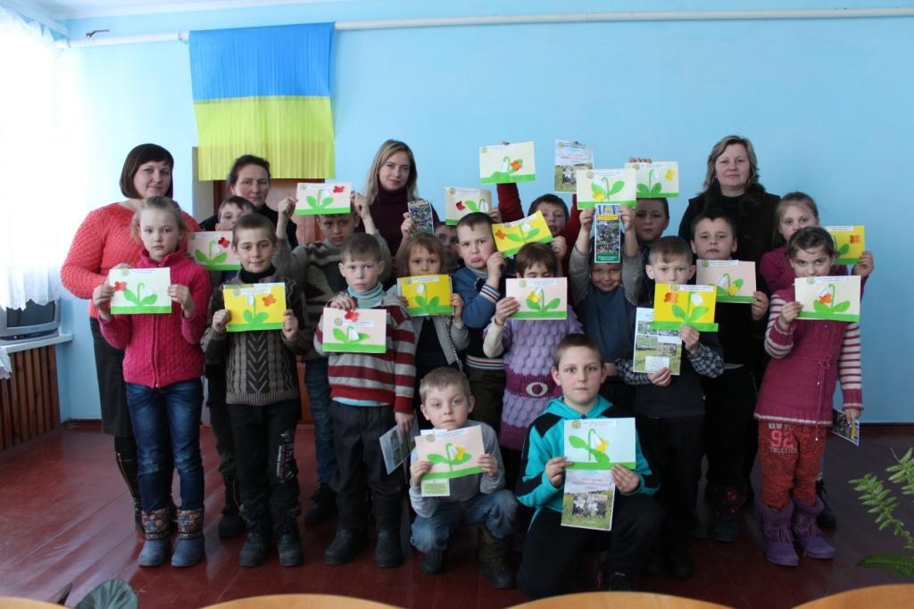 Екоосвітяни природного заповідника «Древлянський» відвідали Новодорогинську ЗОШ.