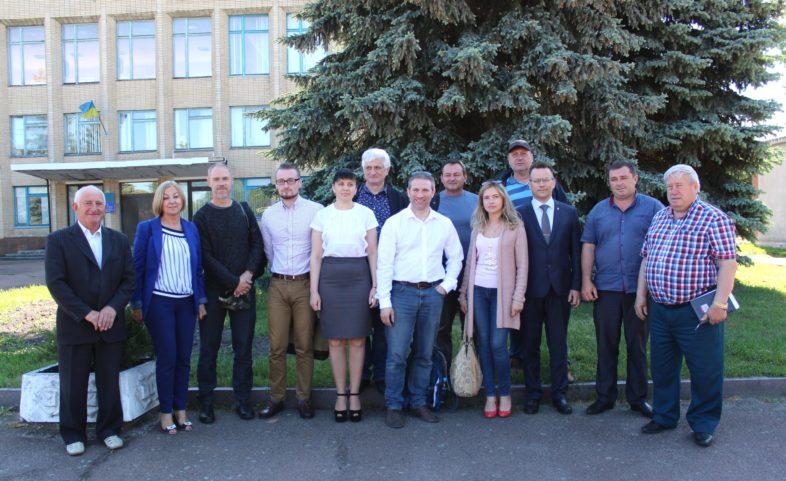 Природний заповідник «Древлянський» відвідали представники міжнародного проекту « iCLEAR».